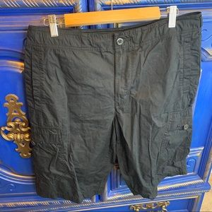 Nike Mens Cotton Shorts Black Cargo & Pockets Med